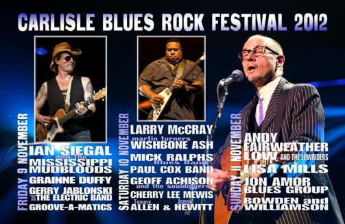 Carlisle Blues Rock Festival 2012